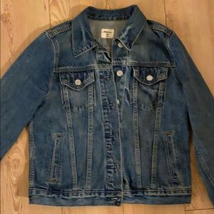 Gap denim jacket petite xsmall